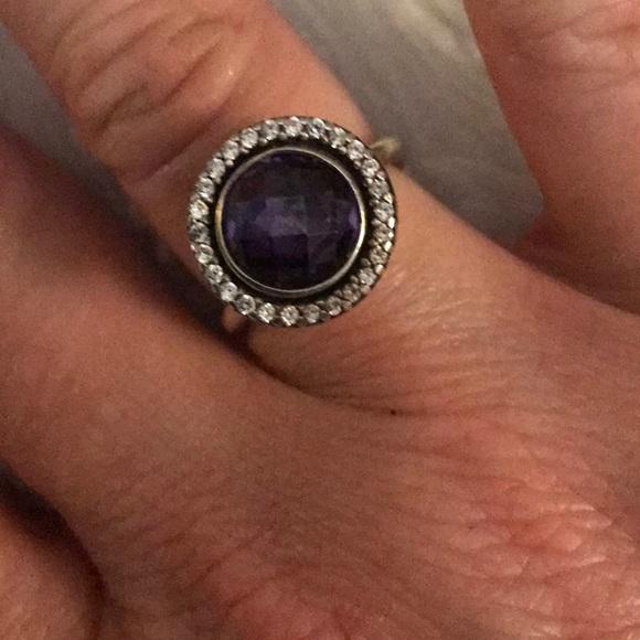 Pandora Jewelry - 🤩 Pandora Amethyst ring 🤩